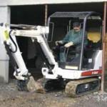 Bobcat 320 excavator